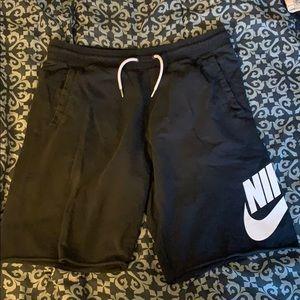 Nike sweat shorts